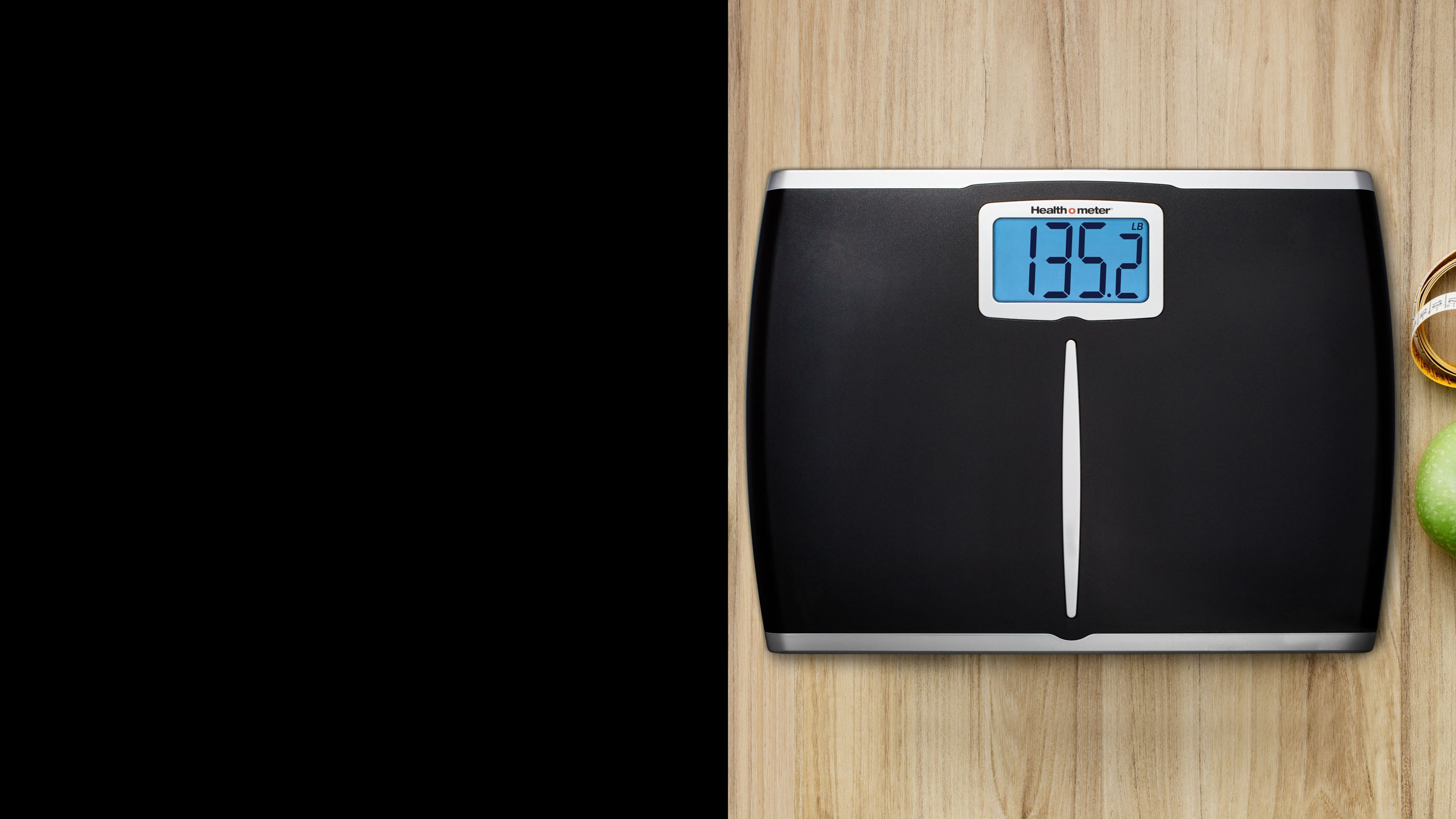 Large digital scale
